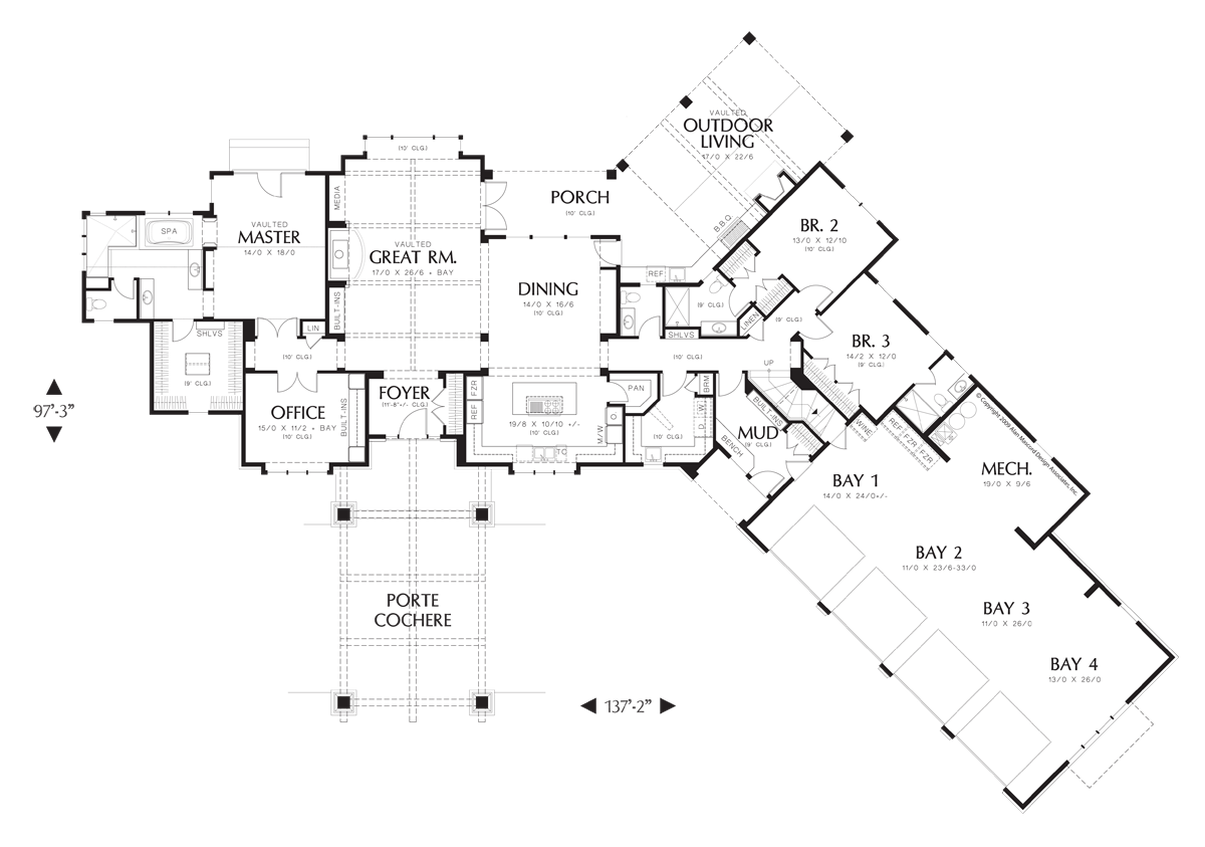 house plan 2464 the manitoba