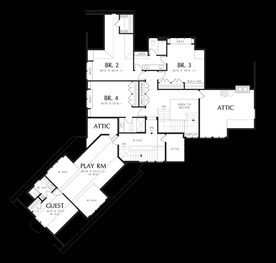 Mascord House Plan 2465 The Letterham