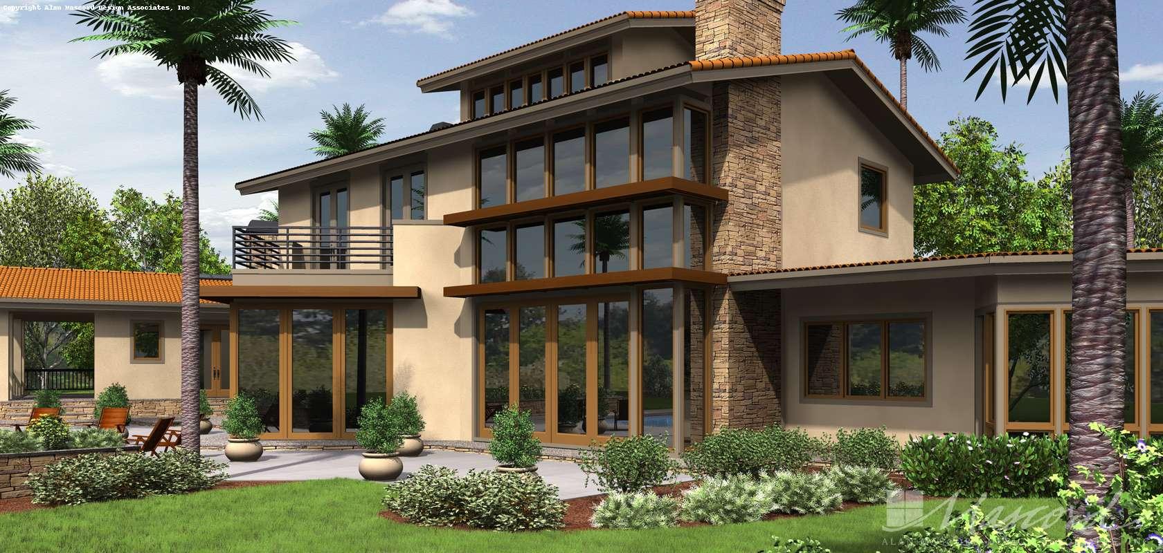 Mascord House Plan 2466: The Brunswick