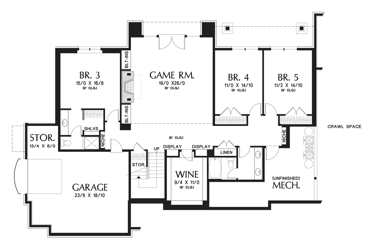 Mascord House Plan The Hendrick - Floor plans homes