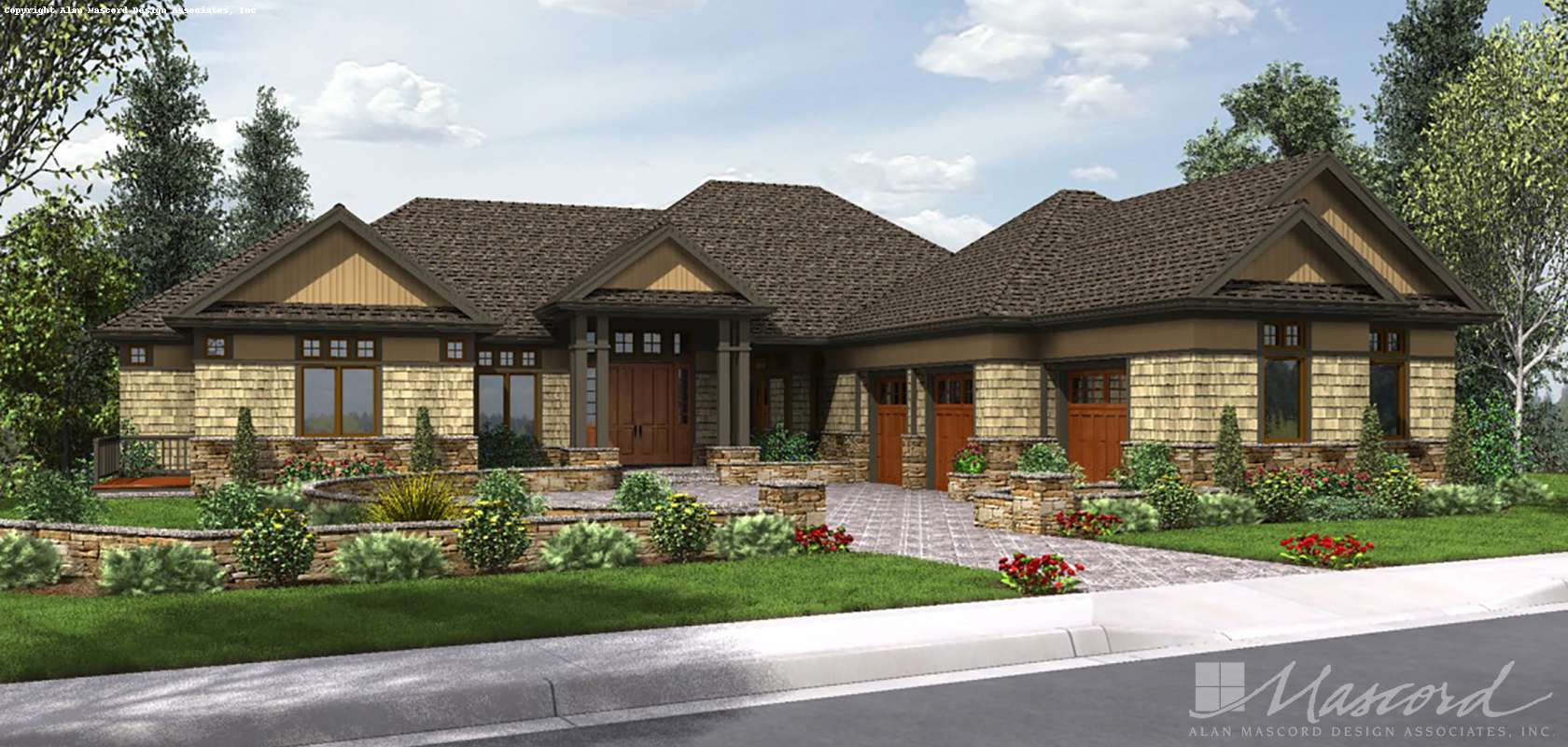 Mascord House Plan 2468: The Wickham