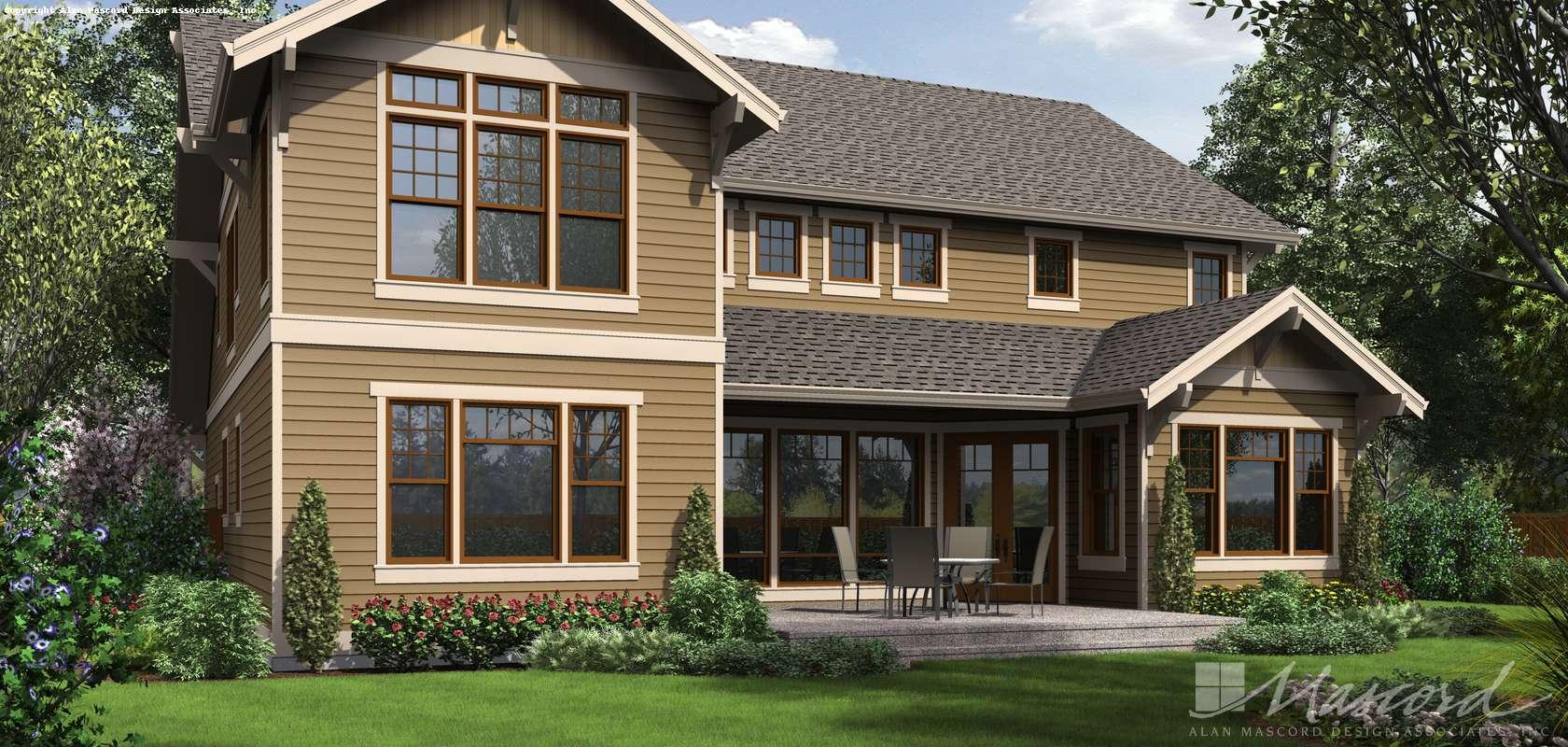 Mascord House Plan 2469: The Tualatin