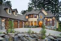 House Plan 2470-The Rivendell Manor-Front Exterior