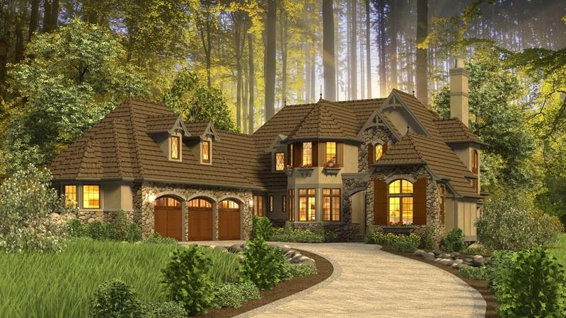 mascord house plan 2470 the rivendell manor