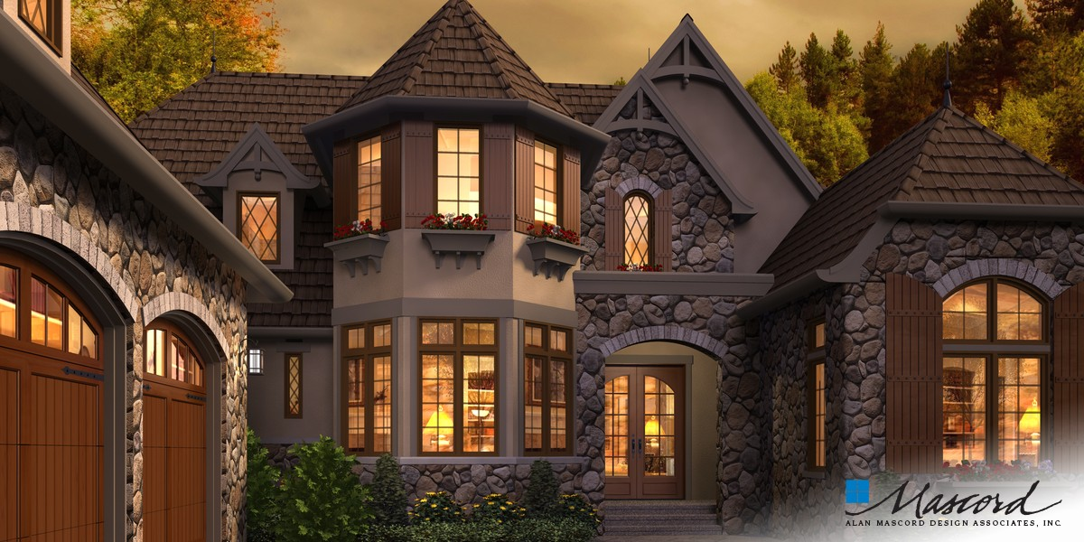 Image for Rivendell Manor-Storybook Splendor in the Street of Dreams-Front Rendering