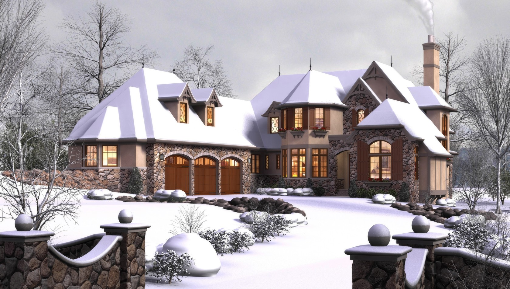 Main image for house plan 2470: The Rivendell Manor