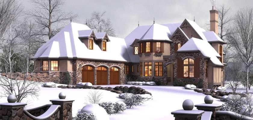 Mascord House Plan 2470: The Rivendell Manor