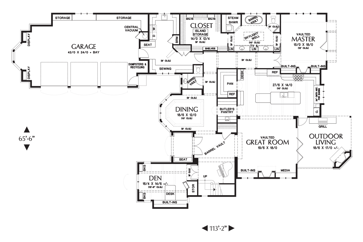 mascord house plan 2470 the rivendell manor image for rivendell manor storybook splendor in the street of dreams main floor plan