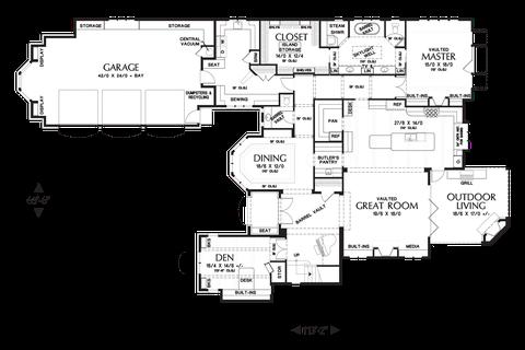 Image for Rivendell Manor-Storybook Splendor in the Street of Dreams-Main Floor Plan