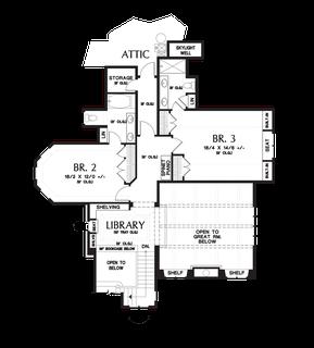 Image for Rivendell Manor-Storybook Splendor in the Street of Dreams-Upper Floor Plan