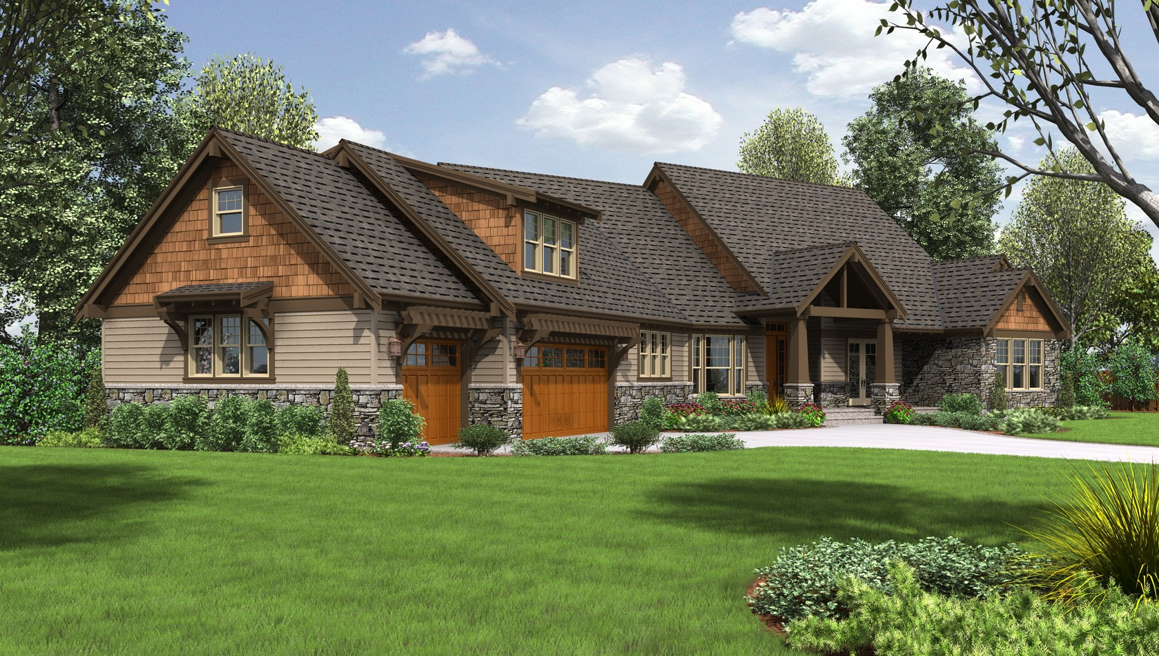 Main image for house plan 2471: The Braecroft