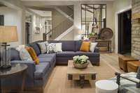 House Plan 2472-The Chatham-Living Room