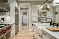 House Plan 2472-The Chatham-Kitchen