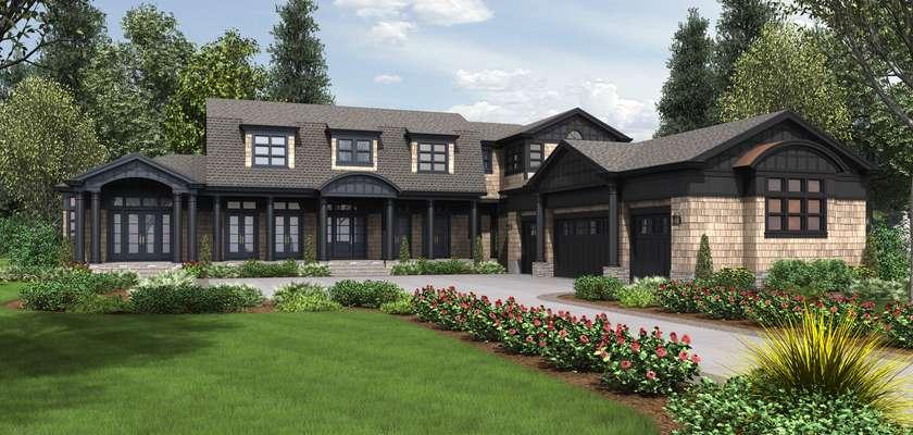 Mascord House Plan 2472: The Chatham