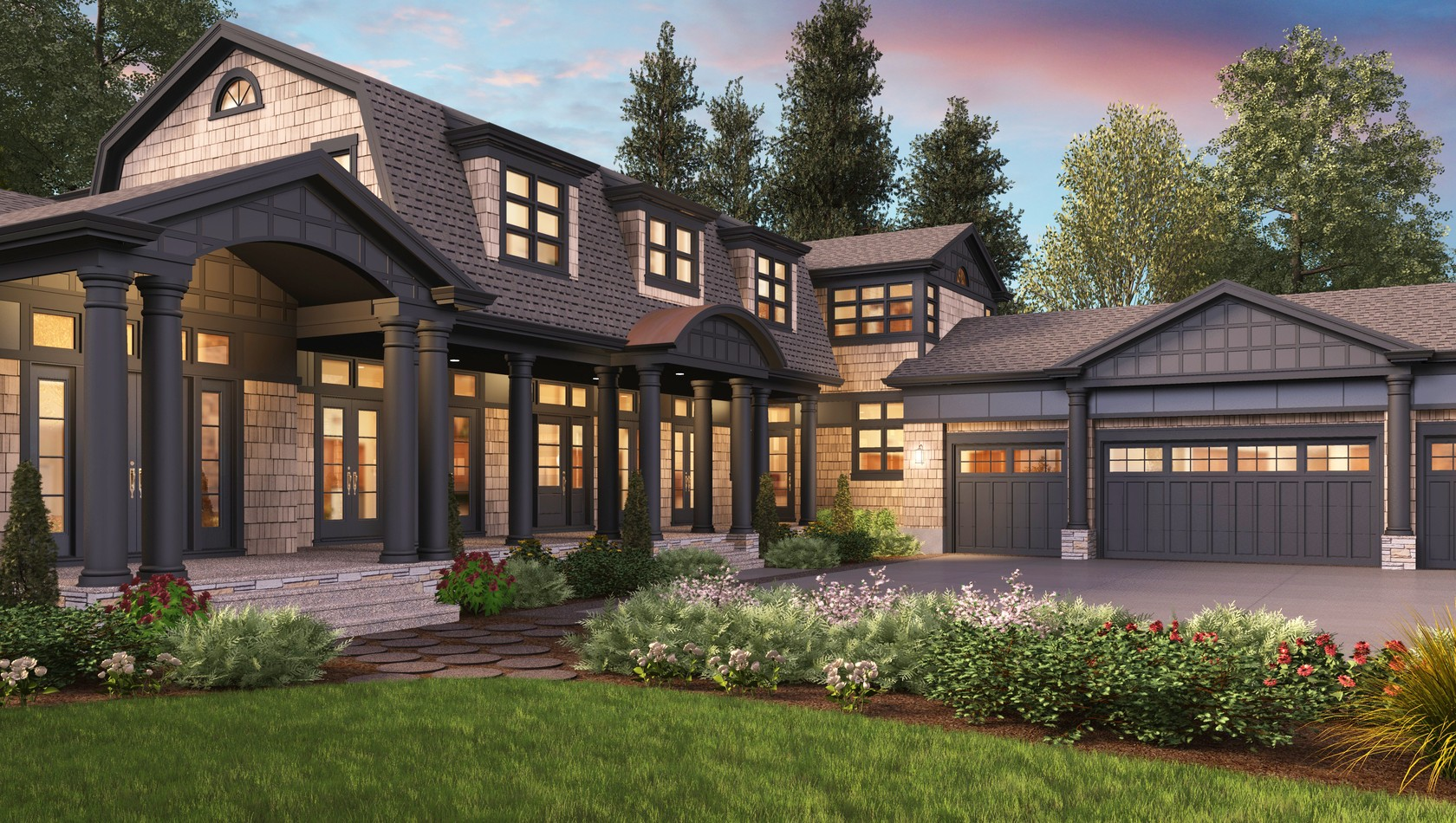 Main image for house plan 2472: The Chatham