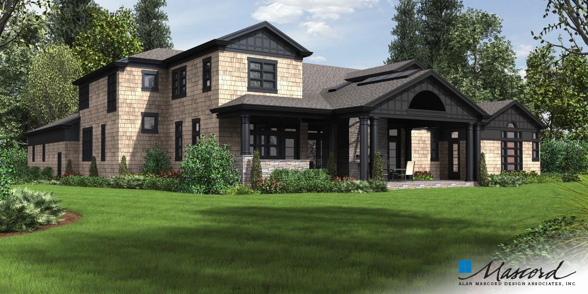 Mascord House Plan 2472 The Chatham