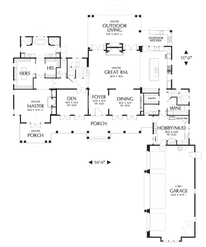 House Plan 2472 The Chatham