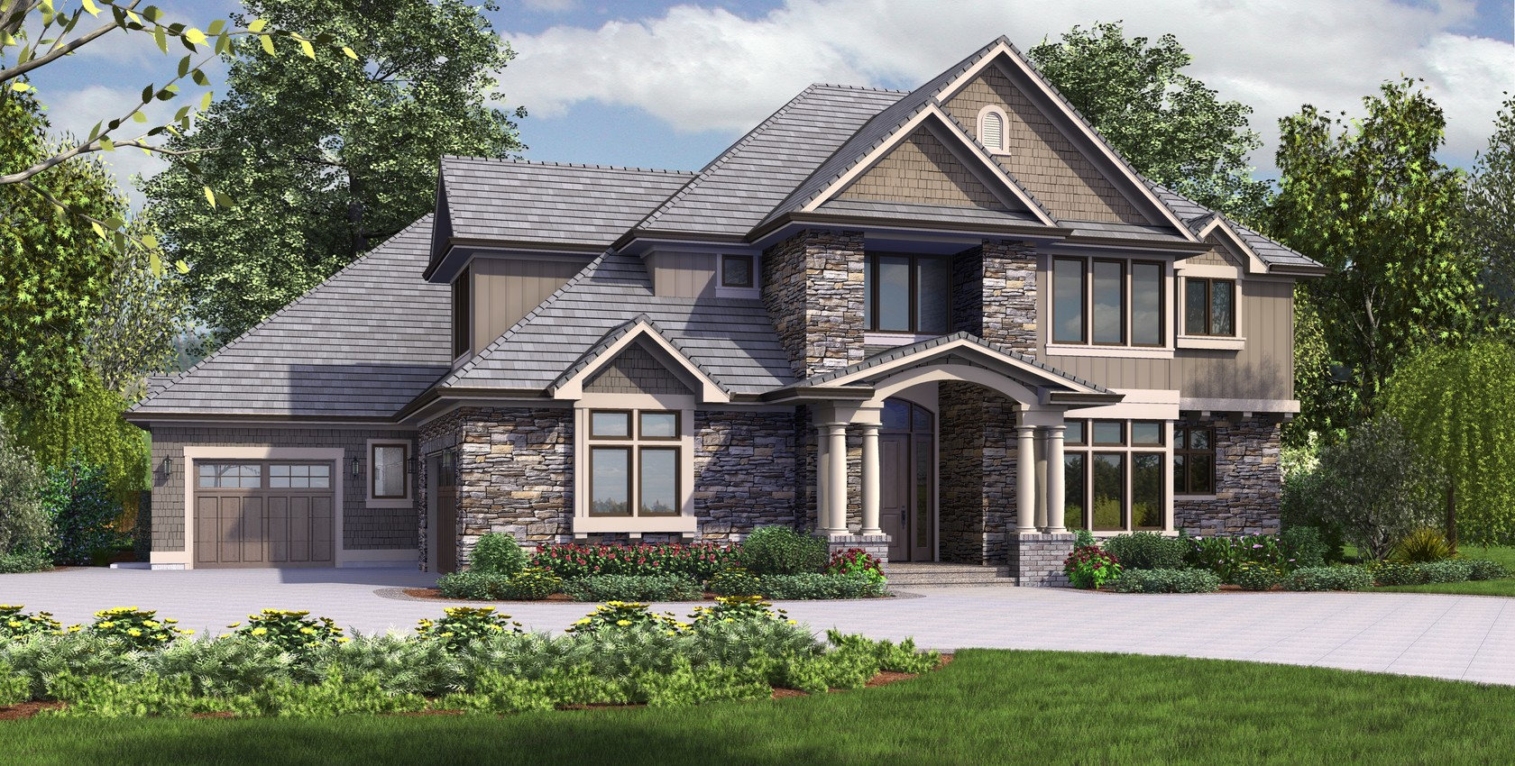 Image for Rutledge-A majestic home design with presence and practicality rolled into one-7189