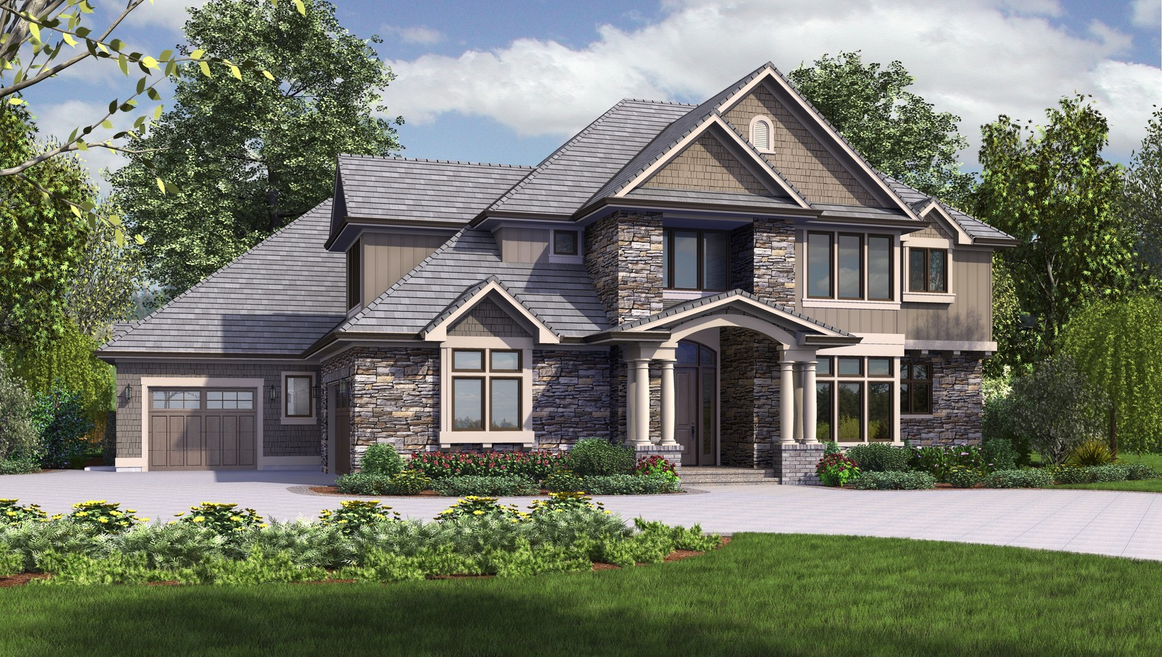 Main image for house plan 2473: The Rutledge