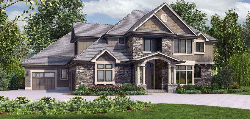 Mascord House Plan 2473: The Rutledge