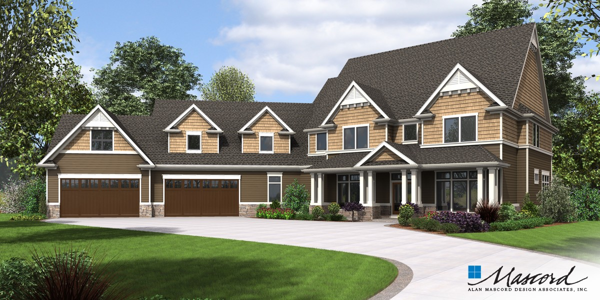 Image for Morristown-Amenities Galore in a Beautifully Traditional Home-Front Rendering