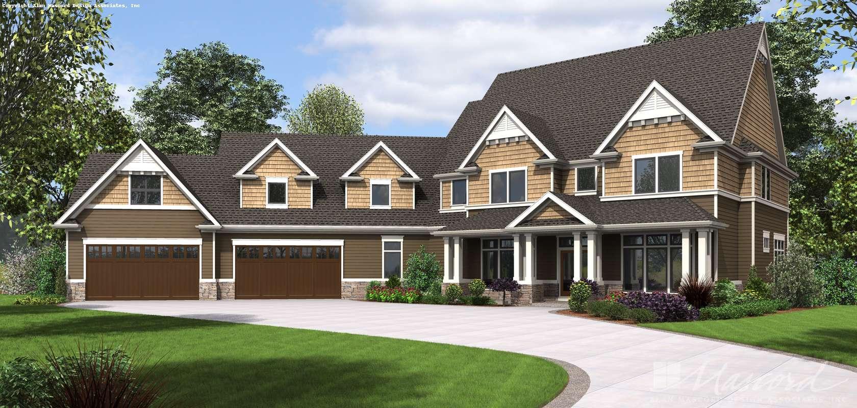 Mascord House Plan 2474: The Morristown