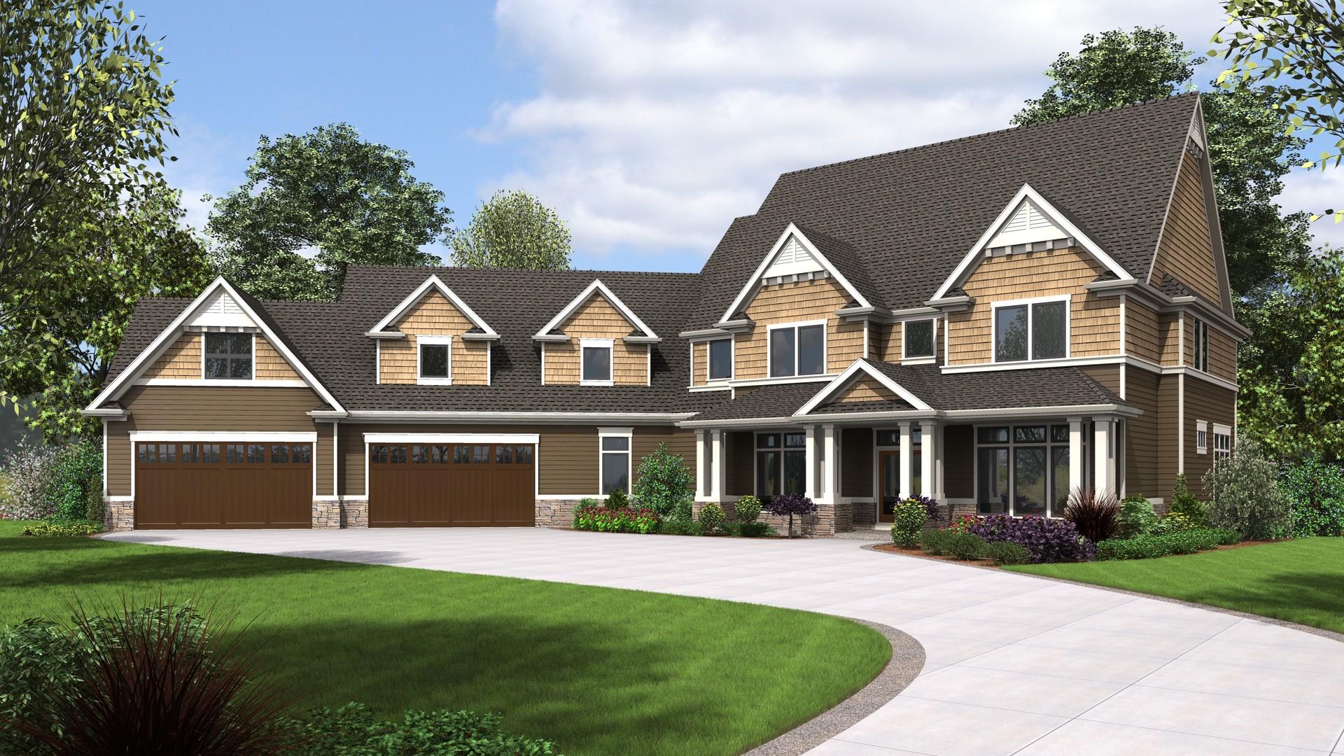 Craftsman House Plan 2474 The Morristown 6349 Sqft 5