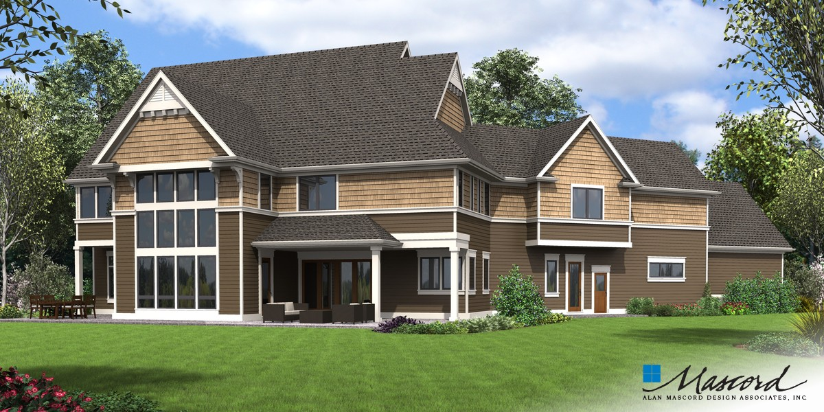 Image for Morristown-Amenities Galore in a Beautifully Traditional Home-Rear Rendering