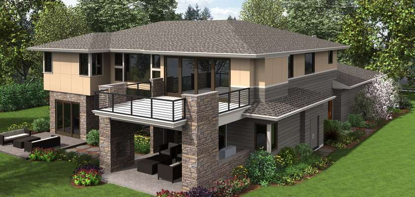 Mascord House Plan 2475: The Summerville