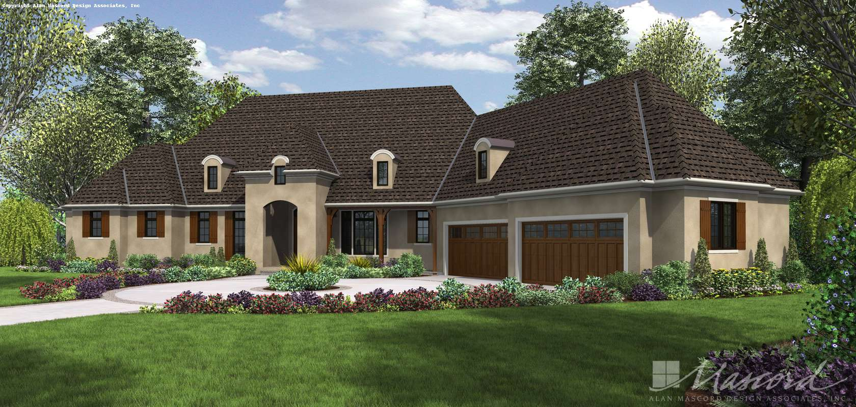 Mascord House Plan 2476: The Thatcher