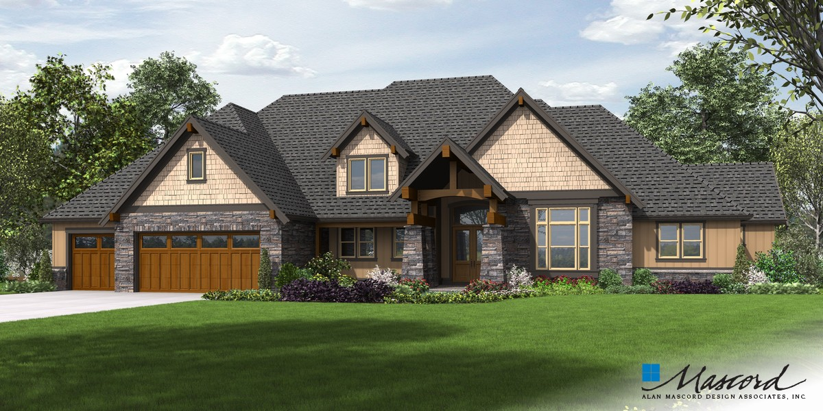 mascord house plan 2477 the millersburg