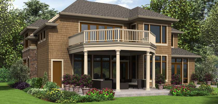 Mascord House Plan 2478: The Octavia
