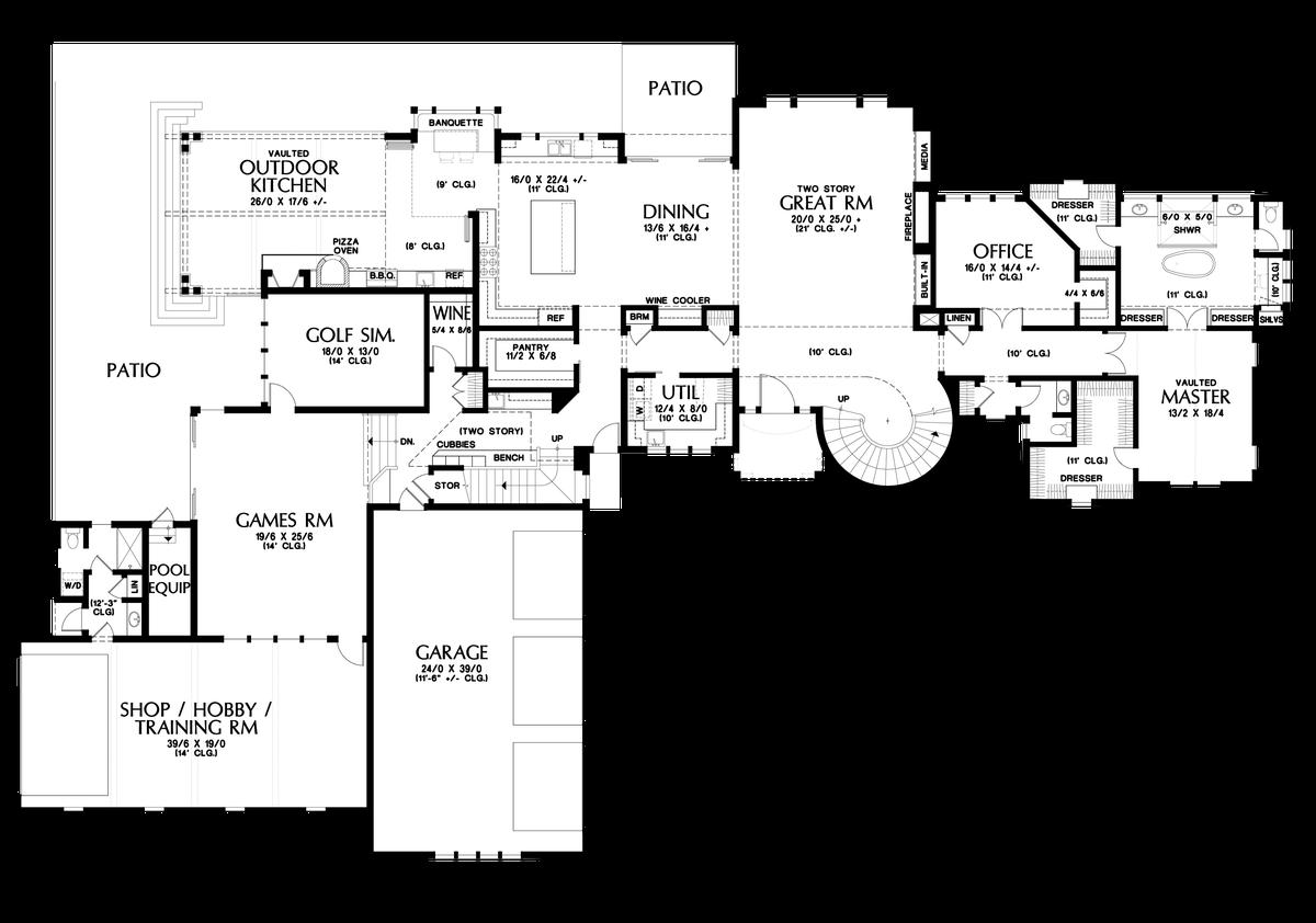 mascord house plan 2479 the belle reve image for belle reve elegant french inspired country mansion main floor plan