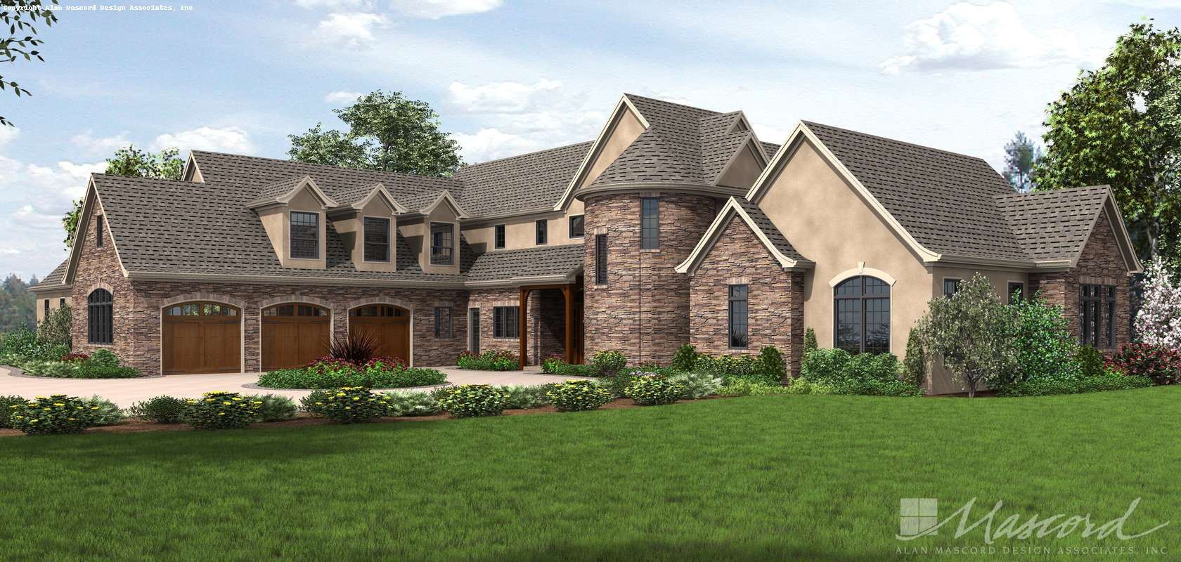 Mascord House Plan 2479: The Belle Reve