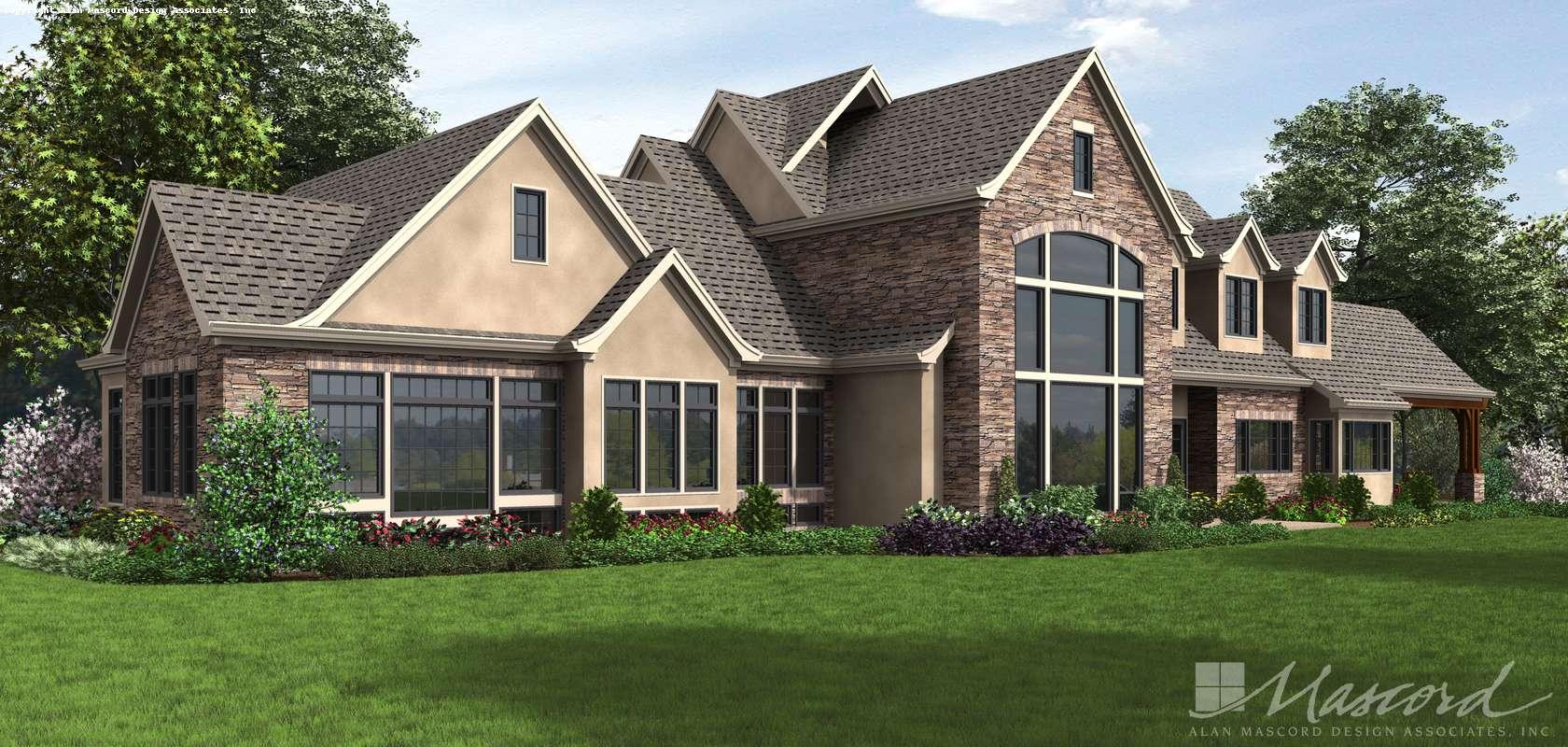 Mascord House Plan 2479: The Belle Reve
