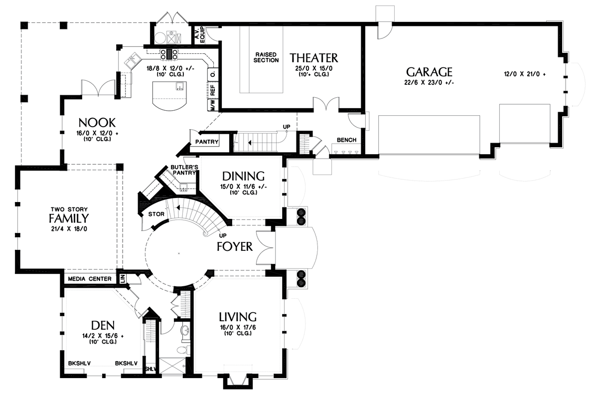 Image for -Magnificent Home, Designed to Impress-Main Floor Plan