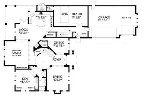 Image for Pikeville-Magnificent Home, Designed to Impress-Main Floor Plan