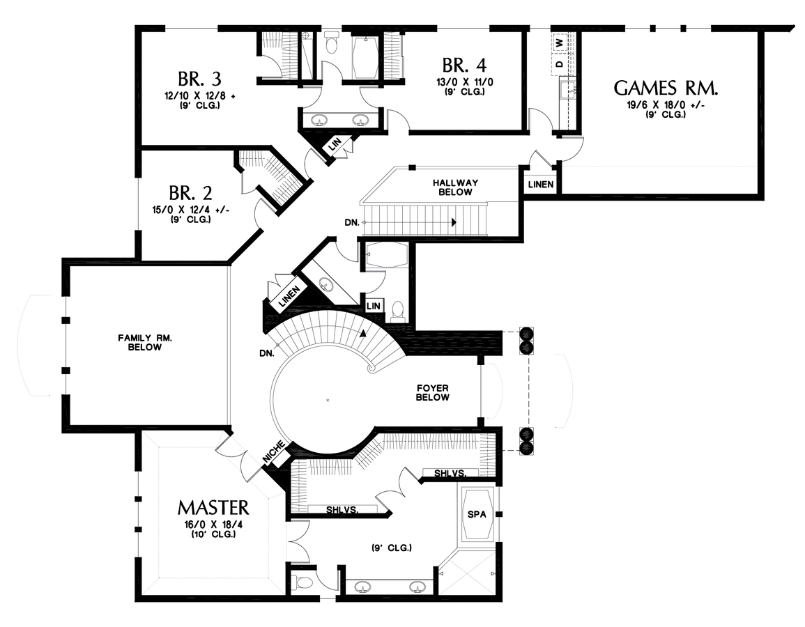Image for -Magnificent Home, Designed to Impress-Upper Floor Plan