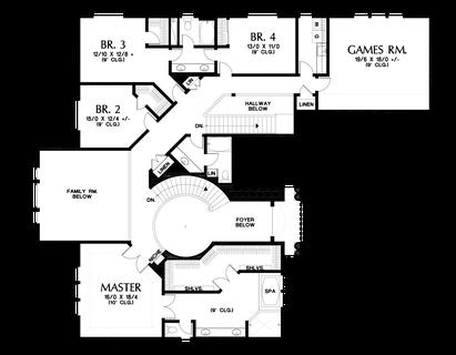 Image for Pikeville-Magnificent Home, Designed to Impress-Upper Floor Plan