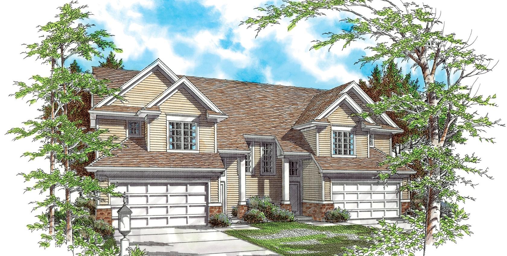 Mascord house plan 4005 the applegate for Applegate house