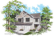 Front Rendering of Mascord House Plan 4010A - The Mayfielder