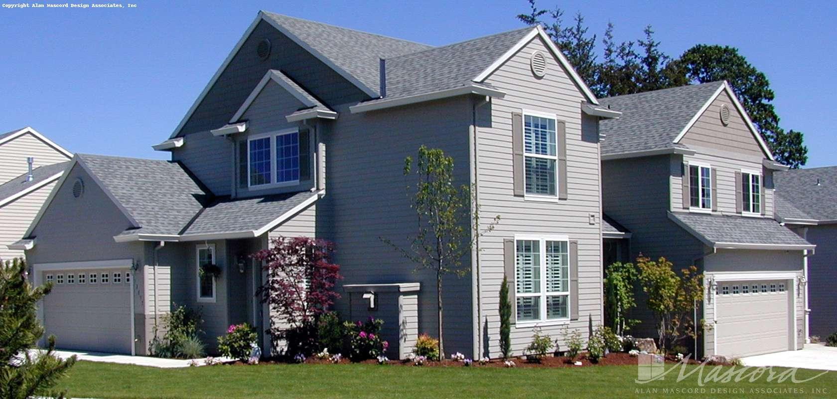 Mascord House Plan 4012: The Edgeworth
