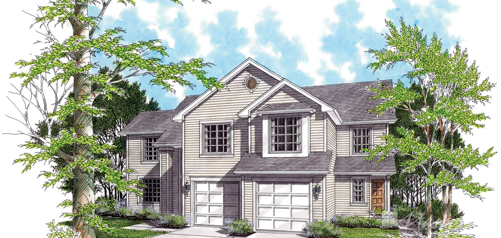 Mascord House Plan 4015: The Birchfield