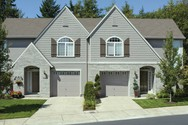 Front Exterior of Mascord House Plan 4026-Unit A - The Sheridan