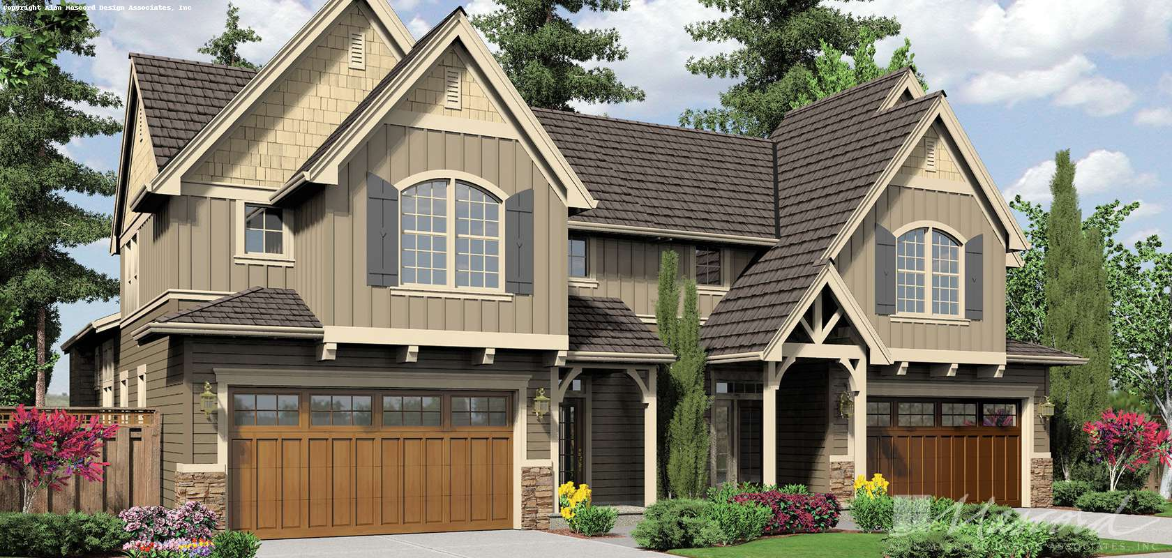 Mascord House Plan 4037: The Whitman