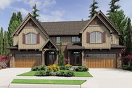 Front Rendering of Mascord House Plan 4039 - The Normandy