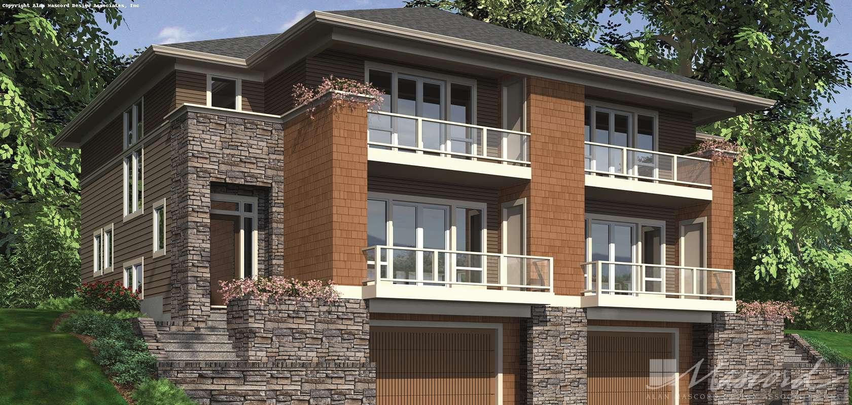 Mascord House Plan 4041: The Prairiefire