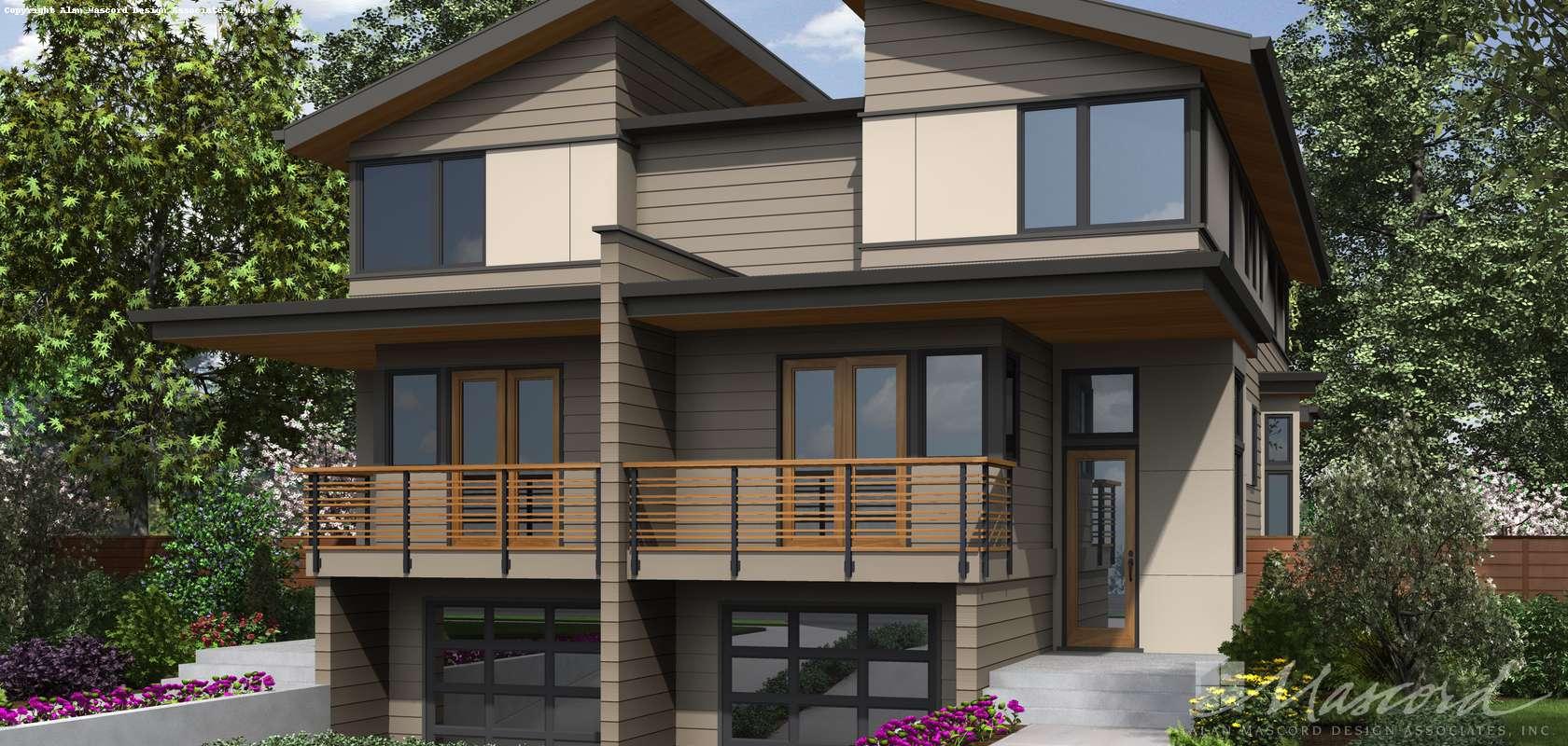 Mascord House Plan 4044: The Grand Teton
