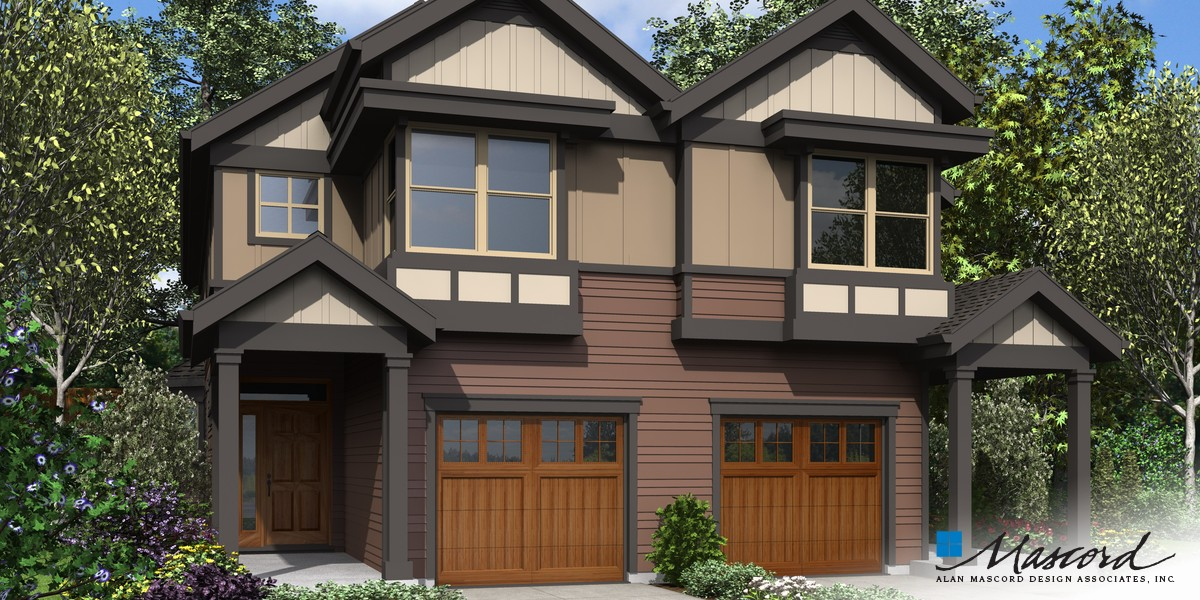 Image for Cascades-Well proportioned Spaces with Great Personal Areas-Front Rendering