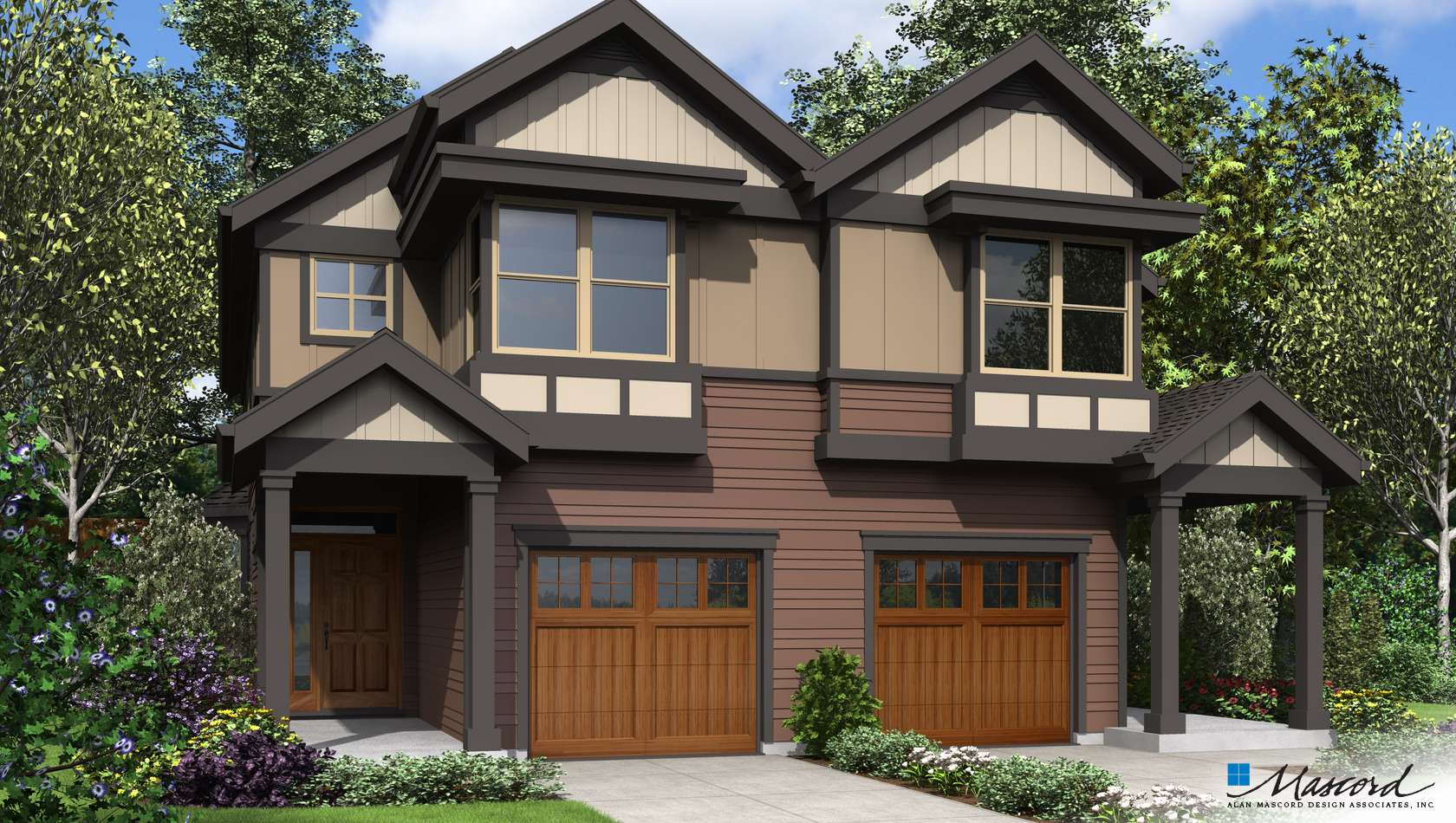 Main image for house plan 4045: The Cascades